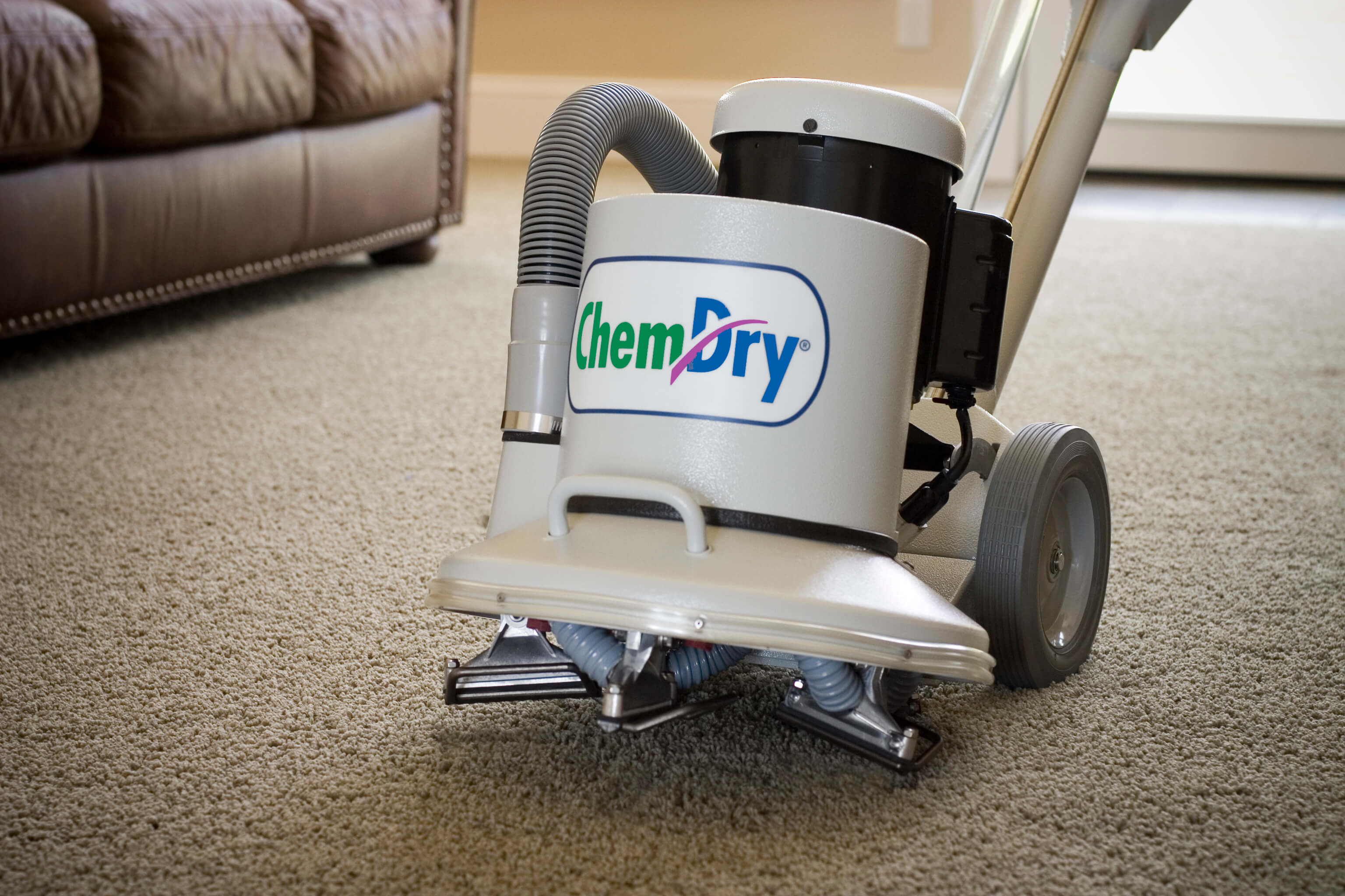 Chem-Dry carpet cleaning machine